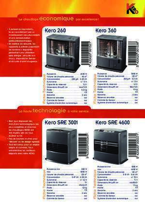 Tosai are 3001 : Kero 260, 360, SRE 3001, SRE 4600 essege
