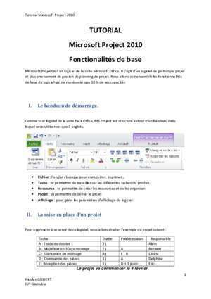 Tutorial Microsoft project - chamilo1.grenet.fr