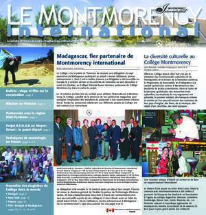Dernier bulletin international du cégep Montmorency
